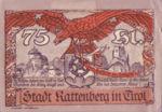 Austria, 75 Heller, FS 821I