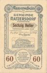 Austria, 60 Heller, FS 822