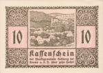 Austria, 10 Heller, FS 826