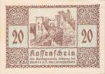 Austria, 20 Heller, FS 826