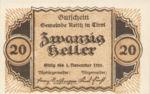 Austria, 20 Heller, FS 831a