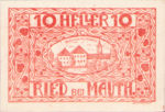 Austria, 10 Heller, FS 833a