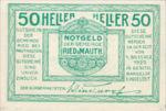 Austria, 50 Heller, FS 833a