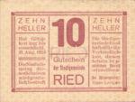 Austria, 10 Heller, FS 834Ib3nt