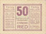 Austria, 50 Heller, FS 834Ib3nt