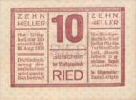 Austria, 10 Heller, FS 834Ib3t