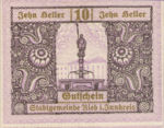 Austria, 10 Heller, FS 834IIb