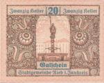 Austria, 20 Heller, FS 834IIb