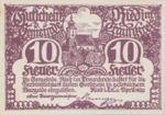Austria, 10 Heller, FS 836Ia