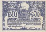 Austria, 20 Heller, FS 836Ia