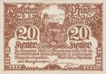 Austria, 20 Heller, FS 836Ib
