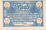 Austria, 75 Heller, FS 836IIa