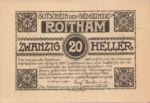 Austria, 20 Heller, FS 843a