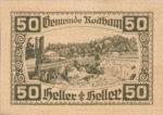 Austria, 50 Heller, FS 843d