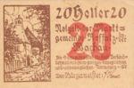 Austria, 20 Heller, FS 848a