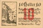 Austria, 10 Heller, FS 848b