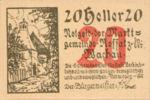 Austria, 20 Heller, FS 848b