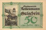 Austria, 50 Heller, FS 852