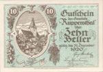 Austria, 10 Heller, FS 854a