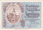 Austria, 20 Heller, FS 854a