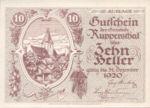 Austria, 10 Heller, FS 854c