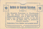Austria, 10 Heller, FS 858Ic