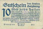 Austria, 10 Heller, FS 860I