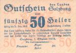 Austria, 50 Heller, FS 860I