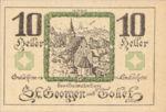 Austria, 10 Heller, FS 890