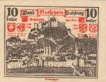 Austria, 10 Heller, FS 860II