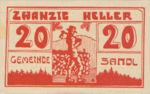 Austria, 20 Heller, FS 874Ic
