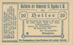 Austria, 20 Heller, FS 877Ia
