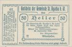 Austria, 50 Heller, FS 877Ia