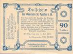 Austria, 90 Heller, FS 877IIa1