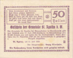 Austria, 50 Heller, FS 877IIc