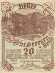 Austria, 20 Heller, FS 883Ia