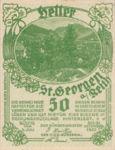 Austria, 50 Heller, FS 883Ia