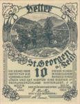 Austria, 10 Heller, FS 883Ib