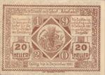 Austria, 20 Heller, FS 885I