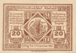 Austria, 20 Heller, FS 885Ix