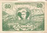 Austria, 80 Heller, FS 888IIa
