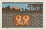 Austria, 99 Heller, FS 893b
