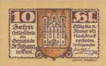 Austria, 10 Heller, FS 898b
