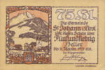 Austria, 75 Heller, FS 898b