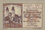 Austria, 75 Heller, FS 898c
