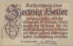 Austria, 60 Heller, FS 898c