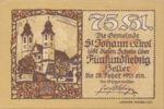 Austria, 75 Heller, FS 898d