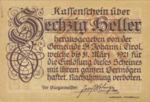 Austria, 60 Heller, FS 898f