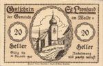 Austria, 20 Heller, FS 902a