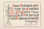 Austria, 20 Heller, FS 904a